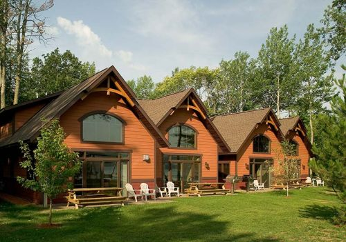 Large Group or Family Reunion Rental Option  5 Bedroom Four Bath. Cottages   Good Ol  Days Family Resort   Nisswa MN